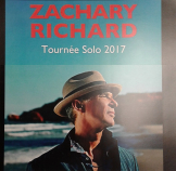 Zachary Richard - Tournée solo 2017